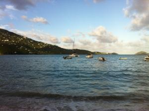 Visiting Catamaran