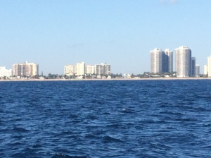 Ft. Laudersale from the ocean
