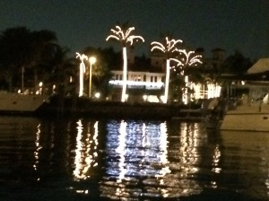 Las Olas night view