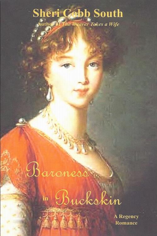 Baroness in Buckskin postcard