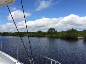 Traveling down ICW