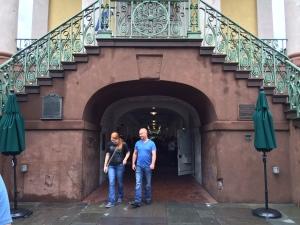 Entrance to Market Steet Charleston
