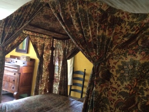Old Mystic Seaport bed