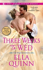 Three Weeks To Wed revise