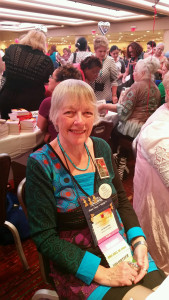Jo Beverley at the Literacy Signing RWA Convention 2015