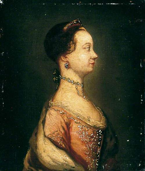 Meyer, Jeremiah; Profile of Queen Charlotte (1744-1818); York Museums Trust; http://www.artuk.org/artworks/profile-of-queen-charlotte-17441818-7868