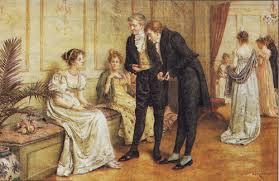 at a ball