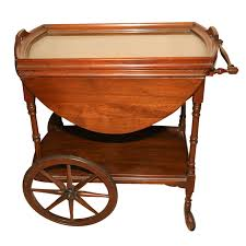 20th century tea cart
